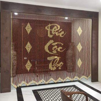 Có nên mua rèm hạt gỗ cho phòng khách nên hay không ?
