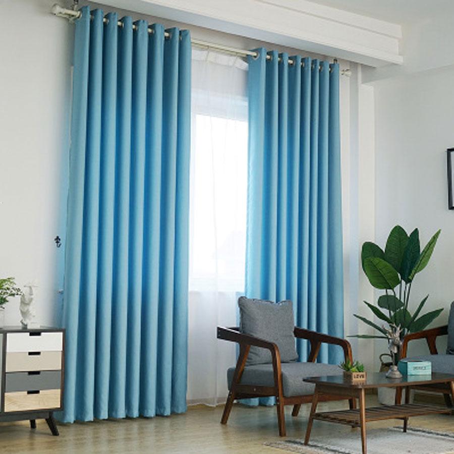 Mẹo lựa chọn rèm cửa sổ màu xanh dương đẹp khó rời mắt