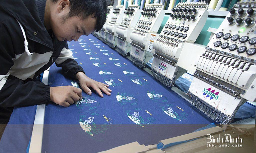 Xưởng thêu máy, thêu vi tính điểm 10 cho chất lượng ngay tại Hà Nội